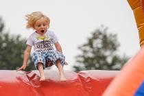 FOTO'S / Terhenster Merke van start met vermaak voor de kinderen