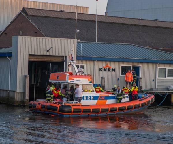 Brand op vaartuig bij Lemmer