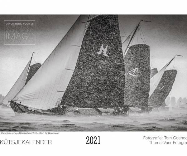 Skûtsjekalender 2021 fotograaf Tom Coehoorn verschenen