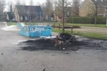 Politie zoekt getuigen van vernielingen en brandstichting bij CSG Bogerman in Balk