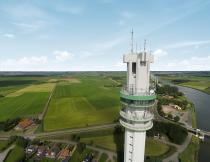 Eerste straalverbinding met toren Spannenburg operationeel