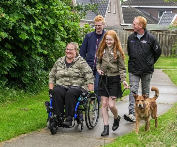 Annemarie Veltman uit Balk: de Onbeperkte Elfstedentocht geeft een 'boost'