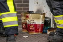 Brandstichting in leegstaand pand Joure